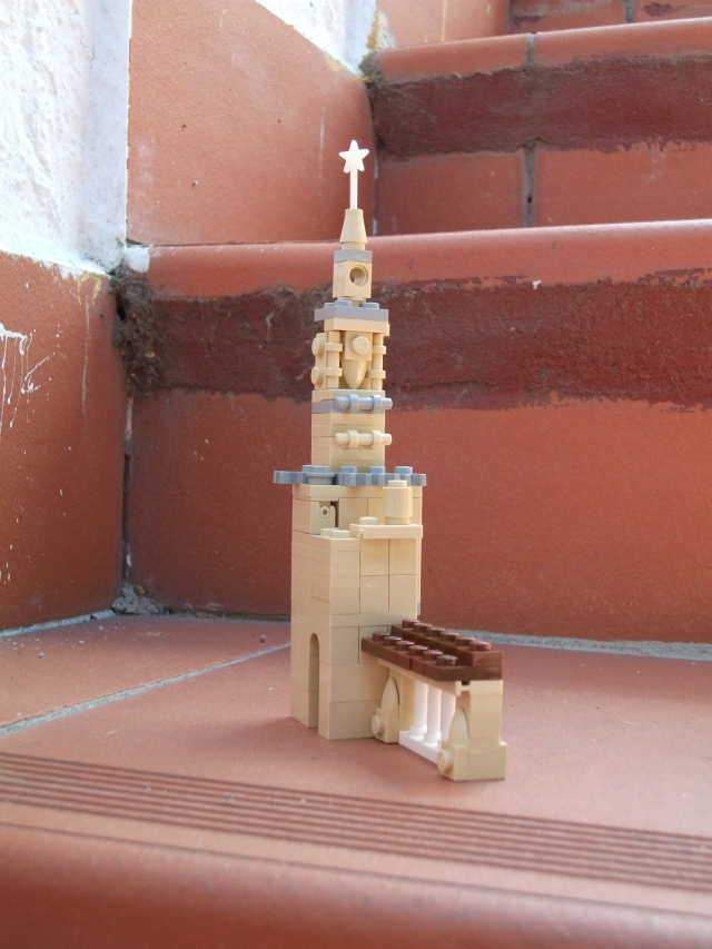 Lego Cordoba cathedral bell tower