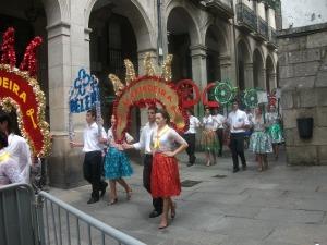 Santiago de Compostela - fiesta parade