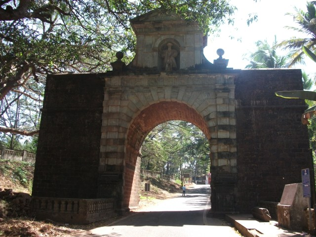 Old Goa - entrance gateway from river