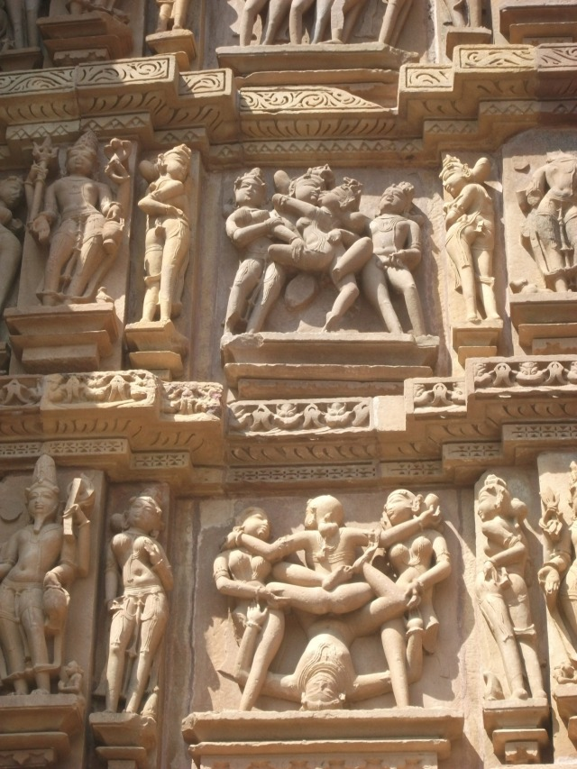 Khajuraho - sculpture