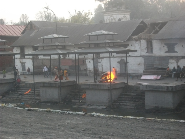 Pashupati - the cremation ghat